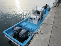 【オーナーの趣味 釣り】オーナーの船
