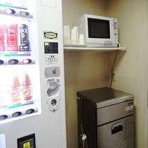 5F自販機コーナー&製氷機