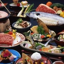 選べるメイン牛or魚介(春夏)