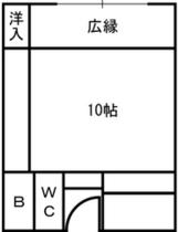 本館平面図(10畳)