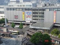 広島駅景色