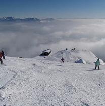 冬 雲海へ向かって