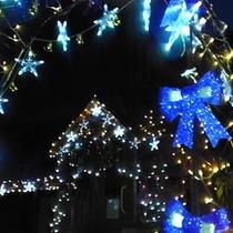 かじか遊園地クリスマスイルミネーション