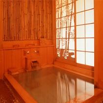 【貸切展望露天風呂「竹取の湯」】貸切風呂は全部で4つ。有料、予約制(先着順)となっております。