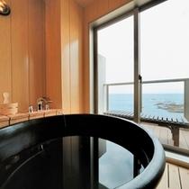 RoomBath 西館6階 アジアン オーシャンビュー半露天風呂