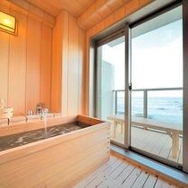 RoomBath 西館5階 ジャパニーズ オーシャンビュー半露天風呂