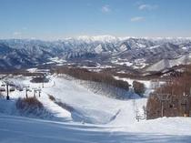 たかつえスキー場山頂