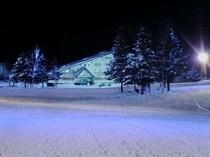 たかつえスキー場ナイター