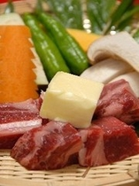 【サイコロステーキ】/一例