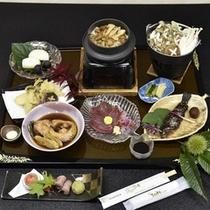 季節の会席料理一例(秋会席イメージ)