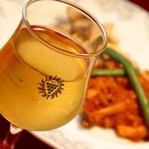 *夕食一例/自家製米と体にやさしい手作り中心のメニュー。お酒も進みます☆