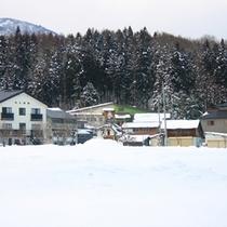 *冬の景色/一面の銀世界!ウィンタースポーツシーズンの始まり♪