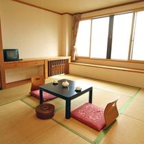 *【新館】客室一例/お部屋は全室和室タイプ。7.5畳または10畳になります。