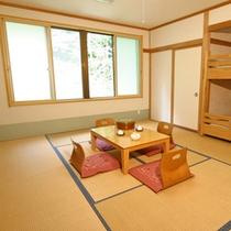 *【新館】客室一例/お部屋は人数により7.5畳または10畳のどちらかとなります。