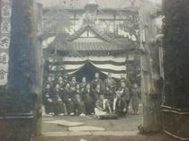 佐久ホテル明治時代の写真。天皇陛下の御部屋も造営されました。