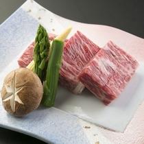 信州プレミアム牛の陶板焼き