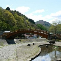 奈良井宿♪木曽の大橋