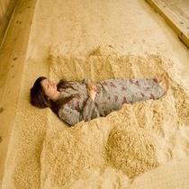 砂塩風呂入浴1