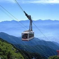 駒ヶ岳ロープウェイゴンドラ