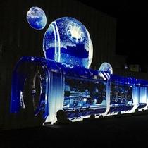 日本一の星空鑑賞☆Winter Night Tour プロジェクションマッピング・イメージ