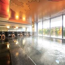 男性大浴場(天照ラジウム温泉)
