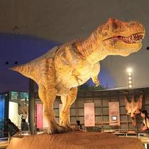 福井県立恐竜博物館 巨大ジオラマ