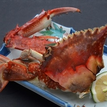 選べる蟹の焼き蟹!