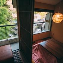 スタンダード客室からの眺め