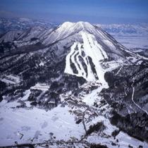 *【スキー場全景】初心者から上級者まで楽しめるよう多彩なゲレンデコースが魅力