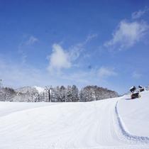 *【スキー場】パウダースノーの上質なゲレンデです。