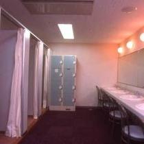*【更衣室】お着替えはこちらで。