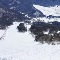 *【スキー場】豪快なシュプールを♪