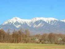 早春の八ヶ岳