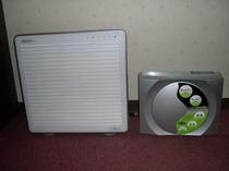 空気清浄機(全部屋設置)