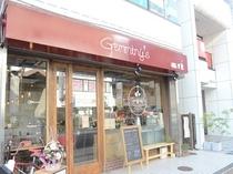 Gemminy's 朝食会場外観