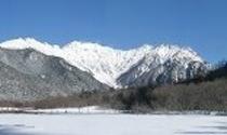 冬穂高&大正池SnowFrozen156x93