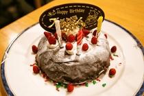 誕生日ケーキのイメージ