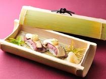 期間限定・信州産牛と松茸の寿司