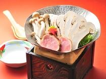 期間限定・松茸鍋