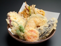 別注文料理・季節の天ぷら