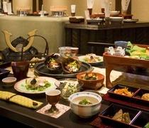 ご膳料理と木曽の郷土料理
