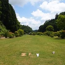 *【グラウンドゴルフ場】緑の中でプレーをお楽しみください