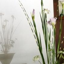 館内 生け花