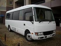 無料送迎バス(空港〜ホテル)