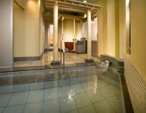 大浴場「豪壮アルプスの湯」温泉ハーブ湯