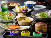 特別階「野の花亭」和朝食(イメージ)※事前にご指定の無い場合は和朝食となります