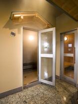 大浴場「豪壮アルプスの湯」スチームサウナ