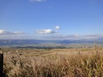秋の阿蘇登山道②