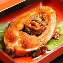料理_夕食単品 鯉の旨煮