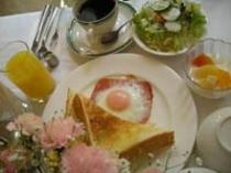 ボリュウムたっぷり洋朝食